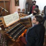 Privates Orgelkonzert für uns Ministranten