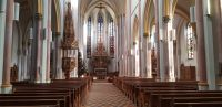 Stadtpfarrkirche St. Nikolaus Innenansicht - Foto: Peter Kreutzer